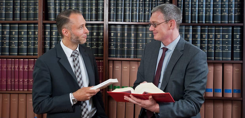 FHF Notare und Rechtsanwälte: Ulrich Kerner und Gerhard Fuchs